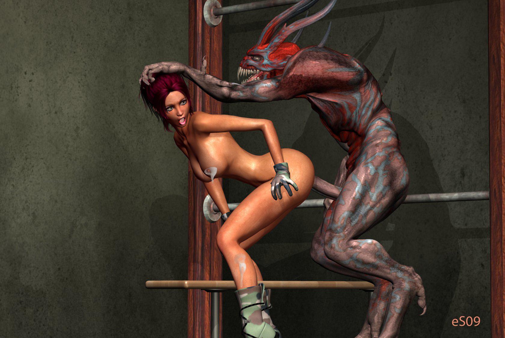 Секс с чудовищем комиксы 20 фотография