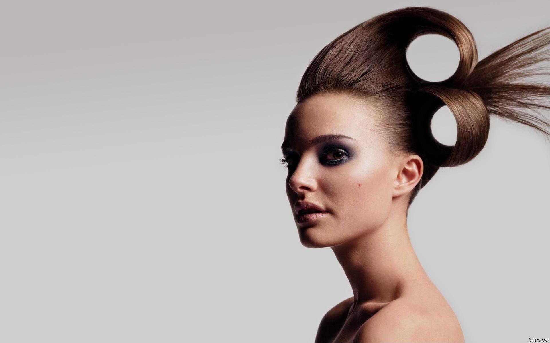 Фото моделей с причёсками