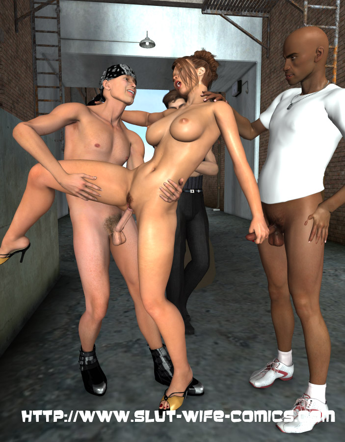 image Back alley 3d interracial gangbang and some furry fucking